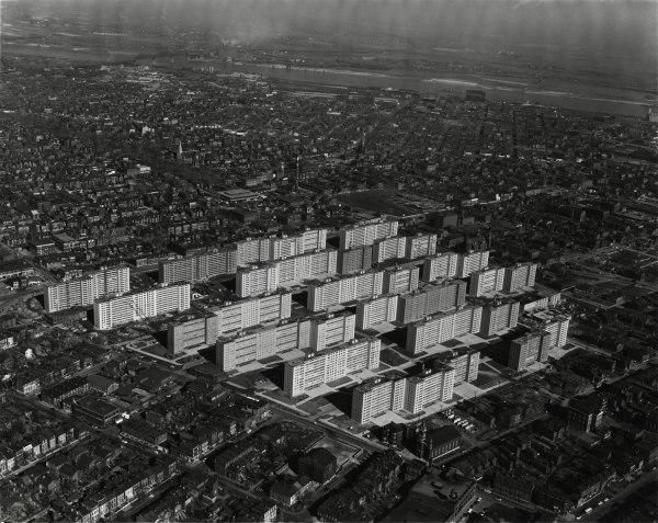 Minoru Yamasaki, the architect behind Pruitt-Igoe, also designed the World Trade Center towers and the main terminal for the Lambert-St. Louis International Airport.